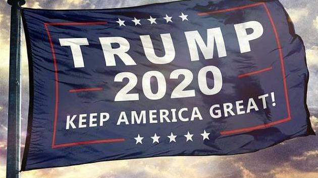 Trumpova kampaň na rok 2020.