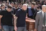 Pohřeb tragicky zesnulého Emiliana Saly