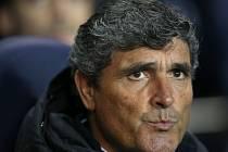 Trenér Juande Ramos.