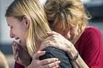 V texaské střední škole v Santa Fe se střílelo