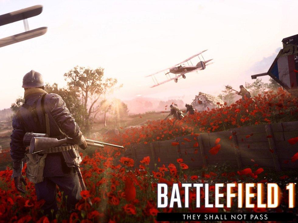 Počítačová hra Battlefield 1: They Shall Not Pass.