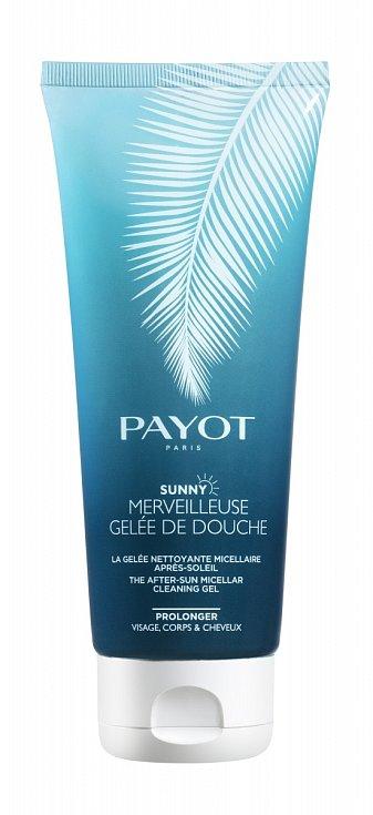 Sprchový gel po opalování pro očistu a hydrataci pokožky Gelee de douche Sunny Merveilleuse, Payot, 455 Kč