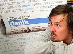Lyžař Ondřej Bank odpovídal čtenářům Deníku v on-line rozhovoru.