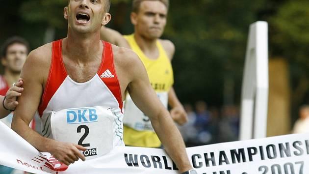 Viktor Horvath z Maďarska se stal vítězem mezi jednotlivci.