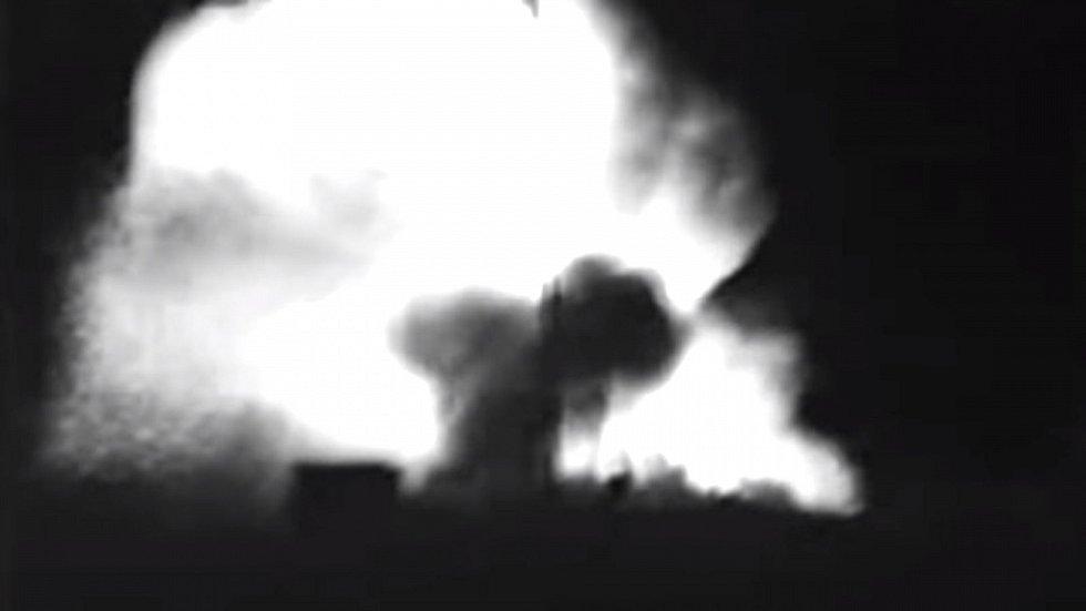Lidé v bezprostředním okolí rakety se v mžiku vypařili
