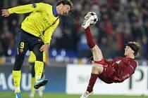Cristian Ansaldi ještě v dresu Kazaně proti Zlatanu Ibrahimovicovi