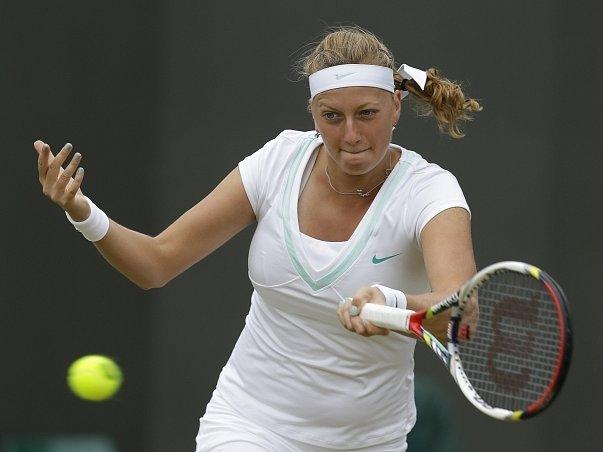 Petra Kvitová postoupila do wimbledonského čtvrtfinále.