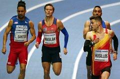 Pavel Maslák při halovém mistrovství světa
