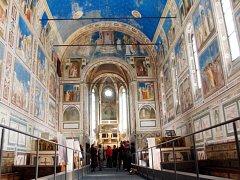 Padovská kaple Scrovegni. Ilustrační foto.
