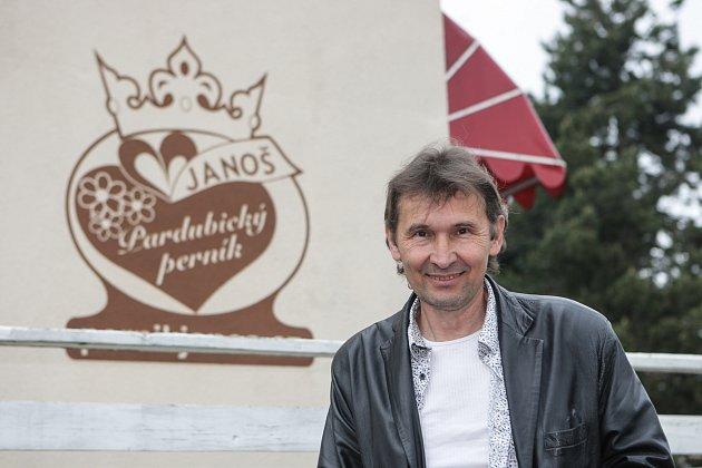 Pavel Janoš, mistr perníkář, Pardubice