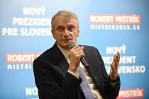 Kandidát na slovenského prezidenta Robert Mistrík