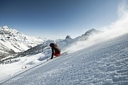 Schlick 2000 je tajným lyžařským tipem v tyrolském údolí Stubai