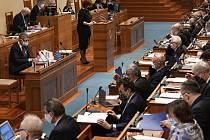Ministryně financí Alena Schillerová na jednání Senátu - Ilustrační foto