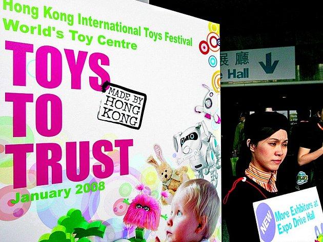 Veletrh hraček probíhá v těchto dnech v čínském Hongkongu.
