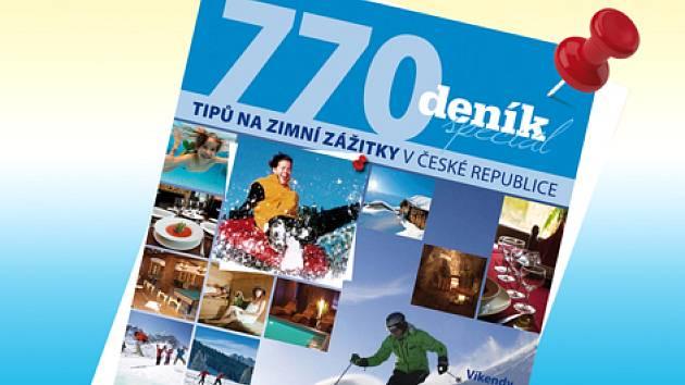 Deník 770 tipů na zimní zážitky.