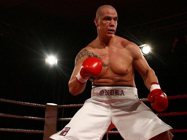 Profesionální boxer Ondřej Pála