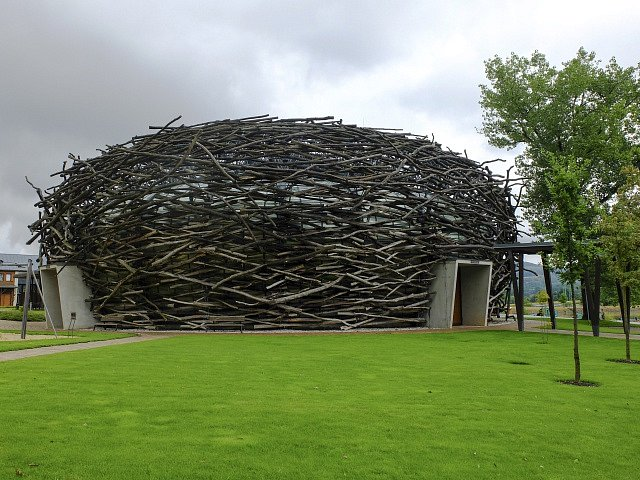 Babišova farma Čapí hnízdo, kongresové centrum Agrofertu