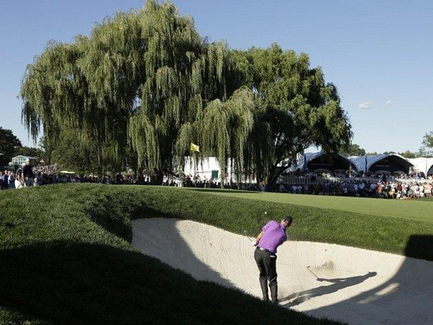 Jim Furyk na PGA Championship na hřišti v v Oak Hill.