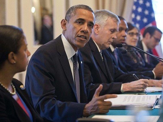 Barack Obama na summitu G 20 v Petrohradu.