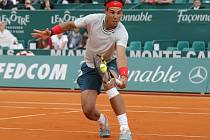 Rafael Nadal na turnaji v Monte Carlu.