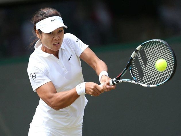 Li Na na Wimbledonu.