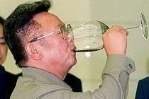Bývalý severokorejský prezident Kim Čong-il. Otec Kim Čong-una