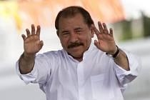 Nikaragujský prezident Daniel Ortega