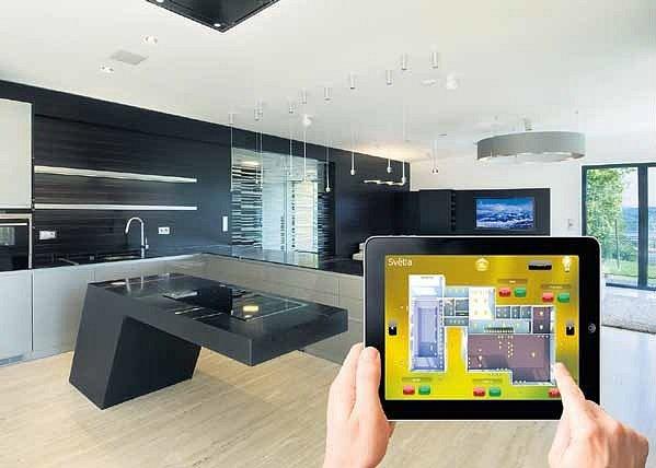 Chytrý dům je jako elektronický sluha