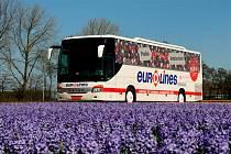 Autobus společnosti Eurolines. Ilustrační snímek