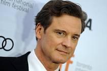 Britský herec Colin Firth.