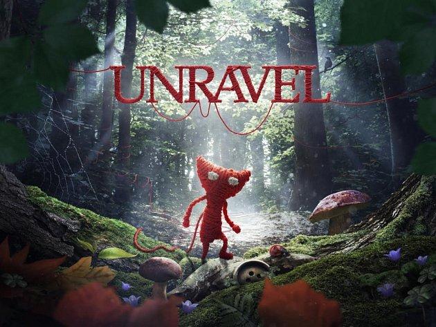 Počítačová hra Unravel.