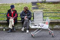 Lidé bez domova - Ilustrační foto