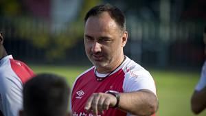 Trenér Slavie Jindřich Trpišovský