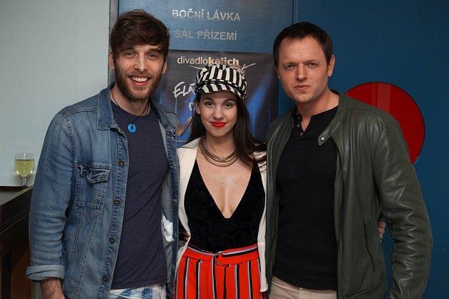 Roman Tomeš, Michaela Tomešová a Jan Kříž