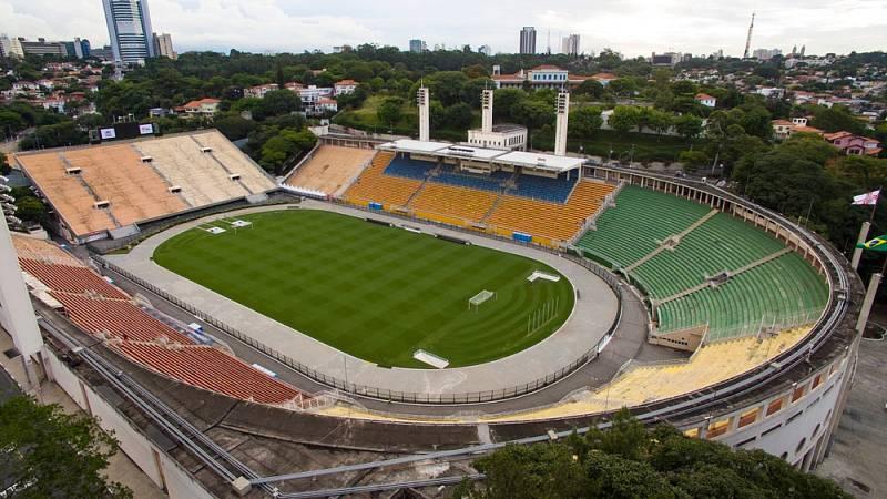 Stadion Pacaembu v brazilském São Paulu hostí zápasy čtyř nejslavnějších celků v regionu - Corinthians, Palmeiras, FC São Paulo a FC Santos…