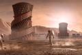 Vítězný návrh obydlí na Marsu.