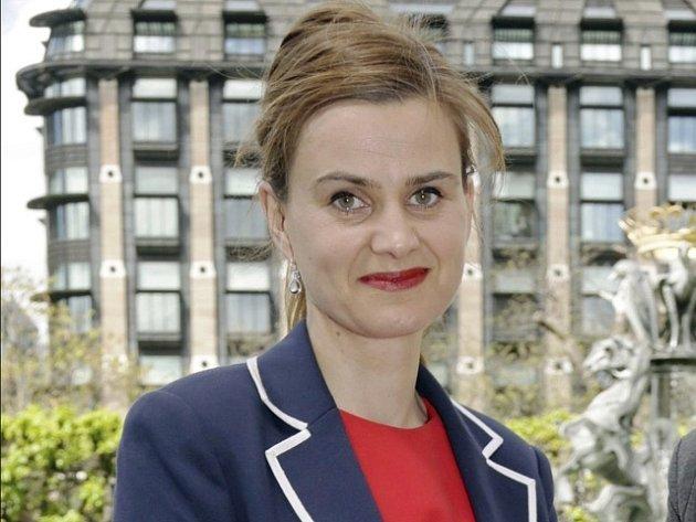 Britská poslankyně Jo Coxová.