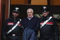 Zatčený Capo di Tutti Capi sicilské mafie Settimo Mineo.