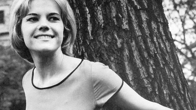Eva Pilarová v roce 1960