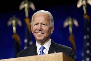 Demokratický kandidát na prezidenta USA Joe Biden