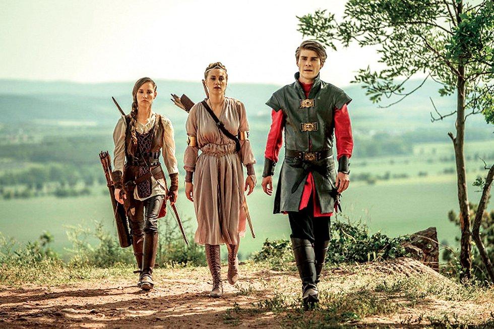 Hlavního hrdinu ztvárnil v pohádce Princezna zakletá v čase, která bude mít premiéru v kinech 19. března.