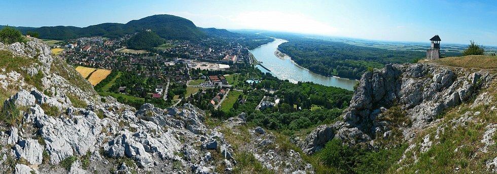 I takové pohledy nabízí rakouské území v těsné blízkosti Bratislavy