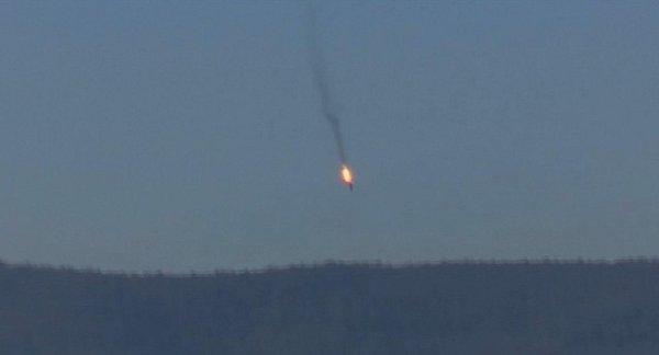 Turecká armáda na hranici se Sýrií dnes sestřelila ruské vojenské letadlo Su-24, které bylo pět minut vtureckém vzdušném prostoru. Zdroj: http://www.denik.cz/ze_sveta/turecko-sestrelilo-na-hranici-se-syrii-vojenske-letadlo-20151124.html