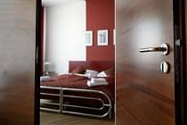 Hotelový pokoj, turistika, ubytování - ilustrační foto.