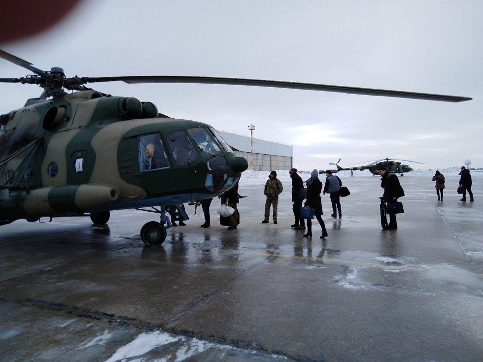 Ukrajinský přístav Mariupol