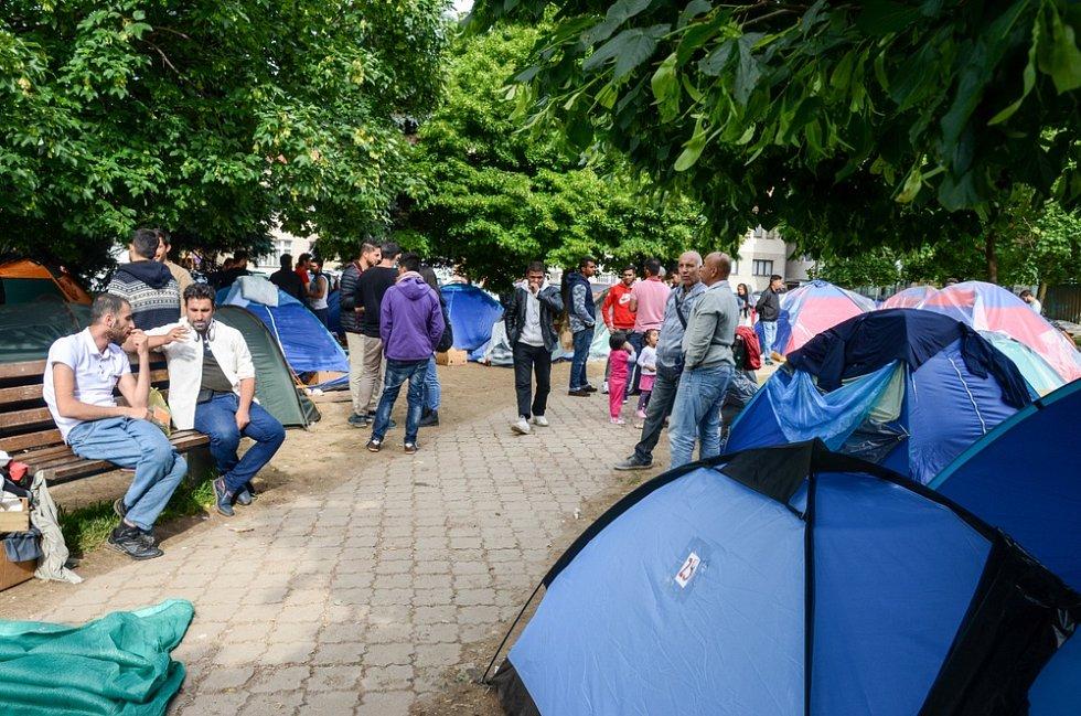 Uprchlíci v bosenském Sarajevu