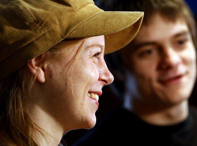 S kolegou Jirkou Mádlem na natáčení filmu Taková normální rodinka