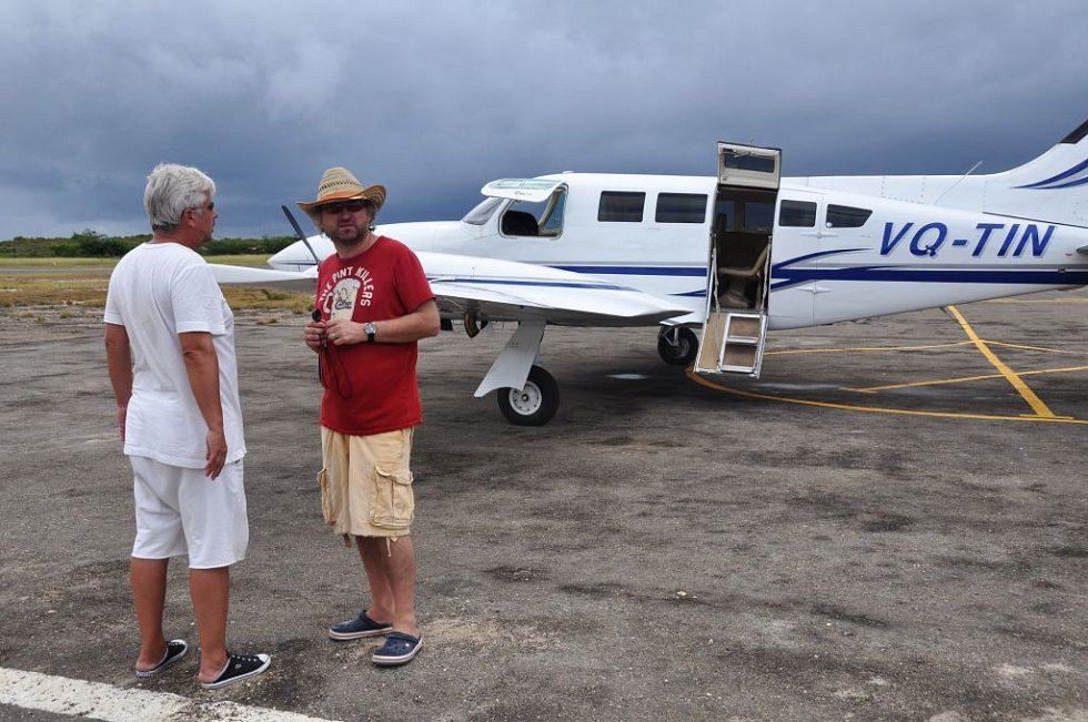 Režisér Jan Hřebejk točil komedii Svatá čtveřice v Karibiku.