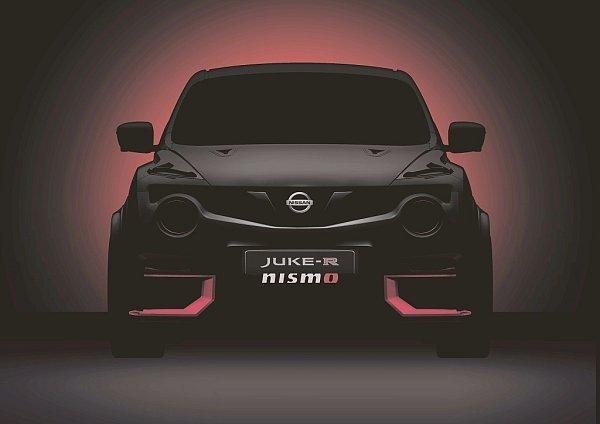 Nissan Juke-R Nismo.
