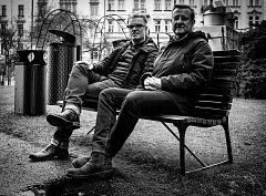 Michal Froněk (vlevo) a Jan Němeček